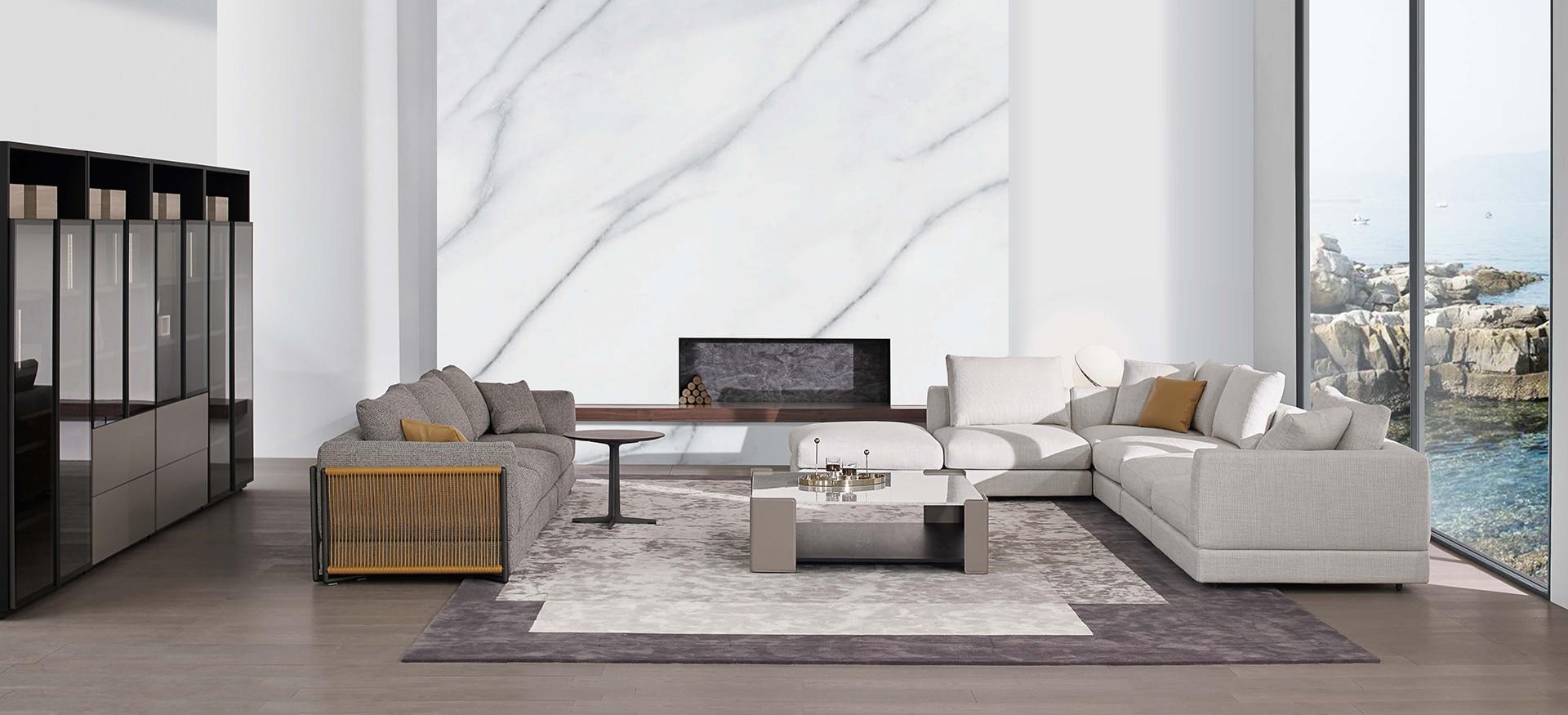 Nature Sofa (Leather Strap)