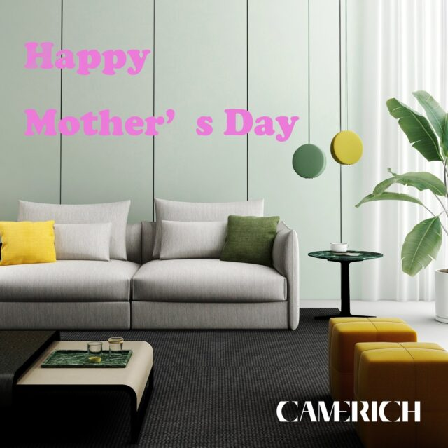 Today is the day to thank one of the most thankless job in the world: Happy Mother's Day! Don't forget to bring your amazing MaMa some flowers today. #CamerichUSA #Camerich #modernfurniture #ContemporaryFurniture #CamerichFurniture #ModernDesign #InteriorDesign #HomeDecor #Interior #Photooftheday #Instagood #stayhomestaysafe #stayhome #mothersday #happymothersday #mothersdaygift #mothersdaygifts #mothersday2020